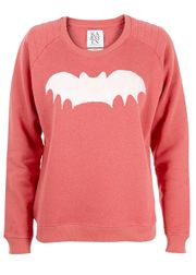 Zoe Karssen - Sweatshirt - Loose Sweat Bat SS14 - Rød
