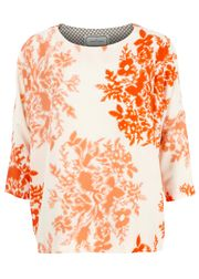 By Malene Birger - Bluse - Saroj - Orange Print