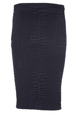 Patrizia Pepe - Nederdel - 2G0540/A1GR - Mørkeblå