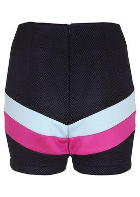 Agurk - Shorts - Carnival Shorts - Navy / Pink / Blue