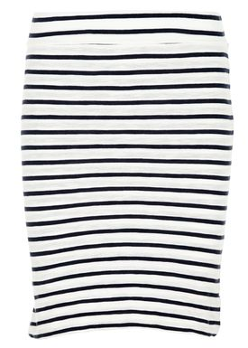 Stig P - Skirt - Amalie - White/Navy Stripe