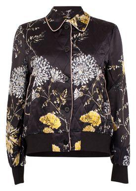 Baum und Pferdgarten - Jacket - Betsey Jacket - Black w. Print