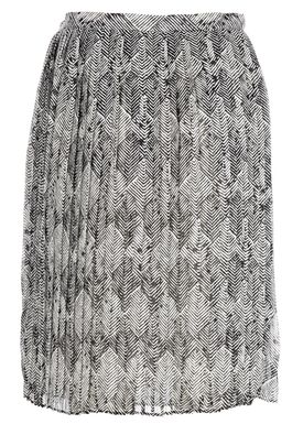 Baum und Pferdgarten - Nederdel - Sidse Print Skirt - Sort/Hvid Print