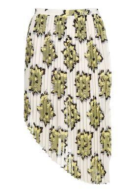 Baum und Pferdgarten - Nederdel - Siena - Gul/Creme Print