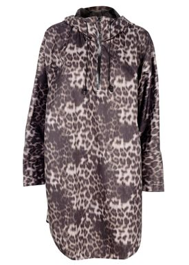 Baum und Pferdgarten - Poncho - Delphine Regnjakke - Leopard Print
