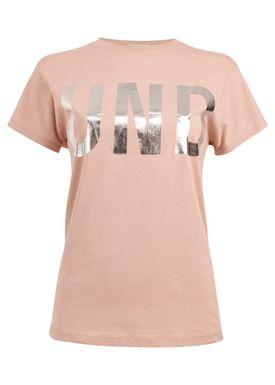 Baum und Pferdgarten - T-shirt - Eira SS17 - Nude/Silver
