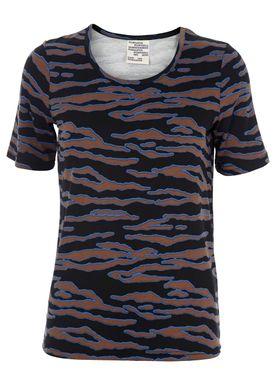 Baum und Pferdgarten - T-shirt - Enora AW15 - Black/Brown Print