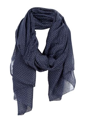 Black Colour - Tørklæde - Noble Dot - Mørkeblå