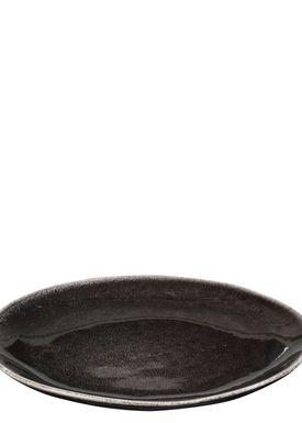 Broste CPH - Tallerken - Tallerken Nordic Coal - Nordic Coal - Dessert/Frokost