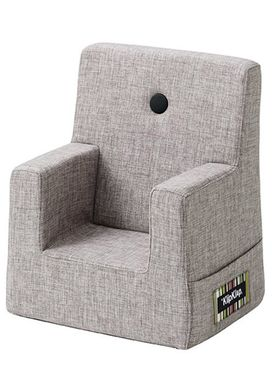 By KlipKlap - Stol - KK Kids Chair XL - Multi grey 520 w grey buttons