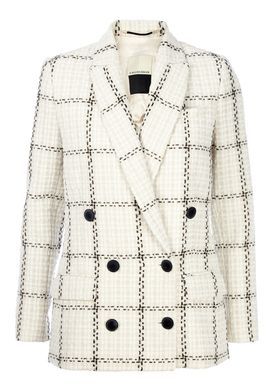 By Malene Birger - Blazer - Cacci - Creme/Sort Mønster