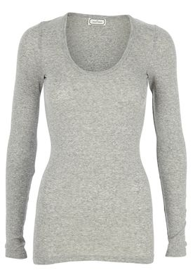 By Malene Birger - Blouse - Tosia - Light Grey