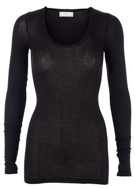 By Malene Birger - Bluse - Tosia - Sort