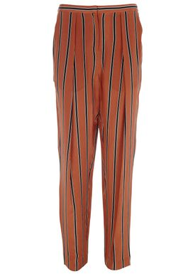 By Malene Birger - Pants - Liboria  - Warm Orange Stripe