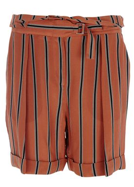 By Malene Birger - Shorts - Kanica - Warm Orange Stripe