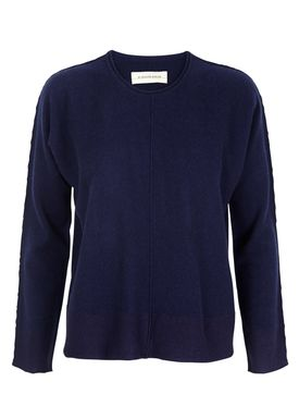 By Malene Birger - Knit - Tillania - Indigo Blue