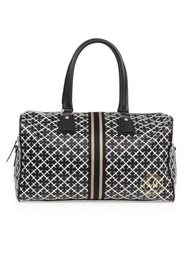 By Malene Birger - Bag - Smwallikan - Black Signature Print