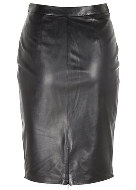 Muubaa - Nederdel - Crisia Leather Skirt - Sort
