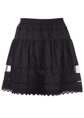 Designers Remix - Nederdel - Lay Skirt - Sort