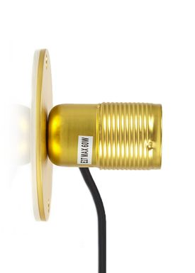 FRAMA - Lamp - E27 Wall Lamp - Brass