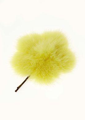 Lille Blomst Hårnål Gul