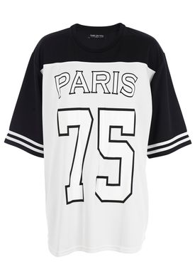 Fame on You Paris - T-shirt - Paris 75 - White