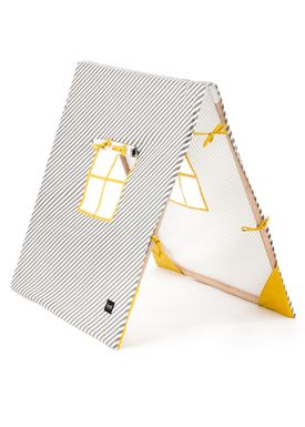Ferm Living - Shelf - Kids Tent - Yellow/Grey