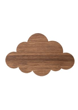 Ferm Living - Lamp - Ferm Childrens Lamp Smoked Oak - Cloud: Smoked Oak
