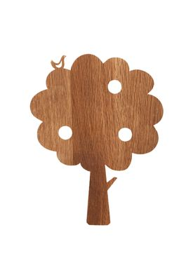 Ferm Living - Lamp - Ferm Childrens Lamp Smoked Oak - Tree: Smoked Oak