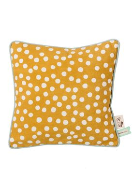 Ferm Living - Cushion - Dots Cushion - Curry
