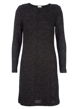 Filippa K - Kjole - Glitter Jersey Dress - Sort
