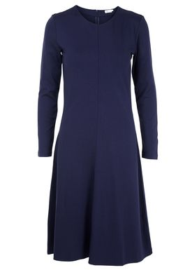 Filippa K - Dress - Jersey Flare Dress - Navy