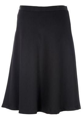 Filippa K - Nederdel - Bias Cut Skirt - Sort