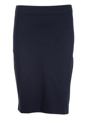 Filippa K - Nederdel - Firm Pencil Skirt - Navy