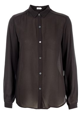 Filippa K - Shirt - Poly Crepe Blouse AW15 - Charcoal