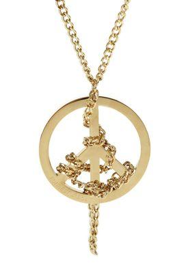 N-Peace Halskæde Guld