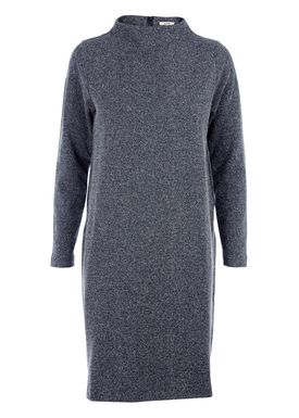 Ganni - Dress - Wilkinson Knit Dress - Grey/Vanilla Melange