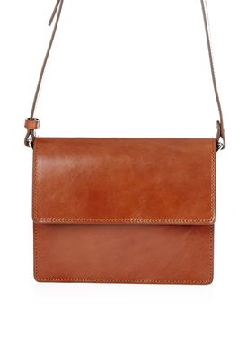 Ganni - Taske - Gallery Bag - Potting Soil (Cognac)