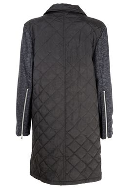 Black Secret - Frakke - Halo Quilted Jacket - Sort