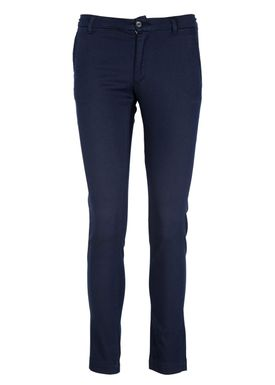 HOPE - Pants - Slim Trouser - Dark Navy