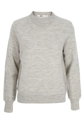 HOPE - Knit - Cara Sweater - Light Grey