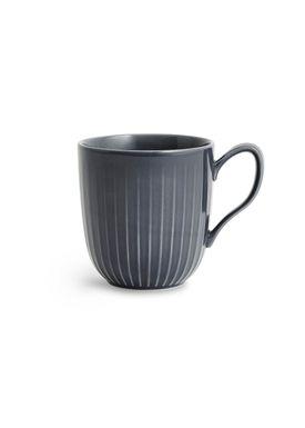 Kähler - Mug - Hammershøi Krus - Antracite Grey