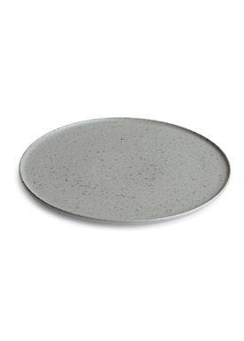 Kähler - Plate - Ombria Plate - Slate Grey