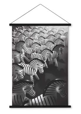 Kay Bojesen - Maleri - Zebra Print - Stor