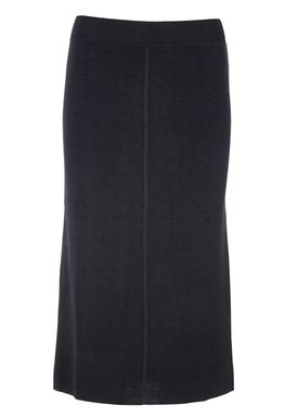 Le Mont Saint Michel - Skirt - Knitted Long Skirt - Black