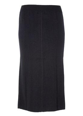 Le Mont Saint Michel - Nederdel - Knitted Long Skirt - Sort