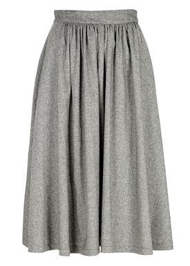 Le Mont Saint Michel - Skirt - Long Michel Skirt - Grey Melange
