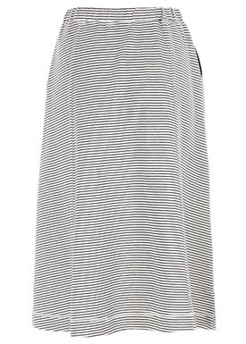 Le Mont Saint Michel - Nederdel - Striped Skirt Michel - Offwhite/Navy