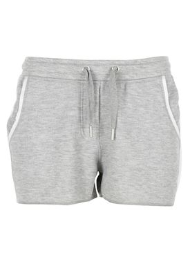 Zoe Karssen - Shorts - Loose Fit Shorts Sweat - Lysegrå/Hvid