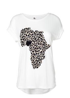 Modström - T-shirt - Trust Charitee - Hvid